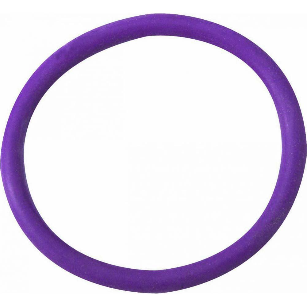 "Spartacus Gear Soft Rubber Cock Ring 2"" Purple - View #2"