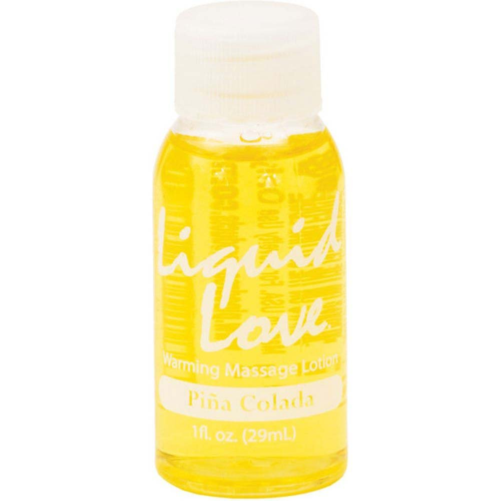Liquid Love Flavored Warming Massage Lotion 1 Fl.Oz 30 mL Pina Colada - View #1