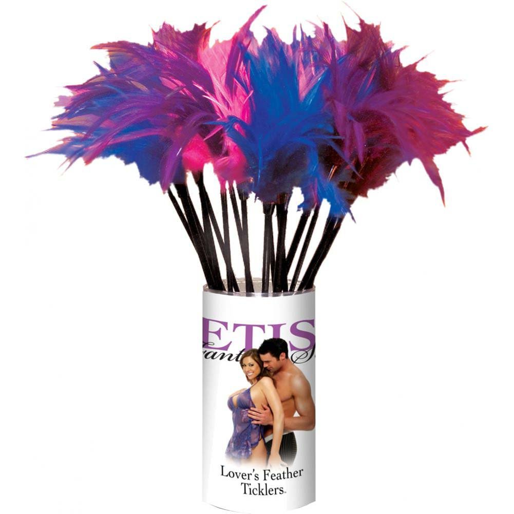 Fetish Fantasy LoveRs Feather Ticklers Counter Display of 24 Pcs - View #1