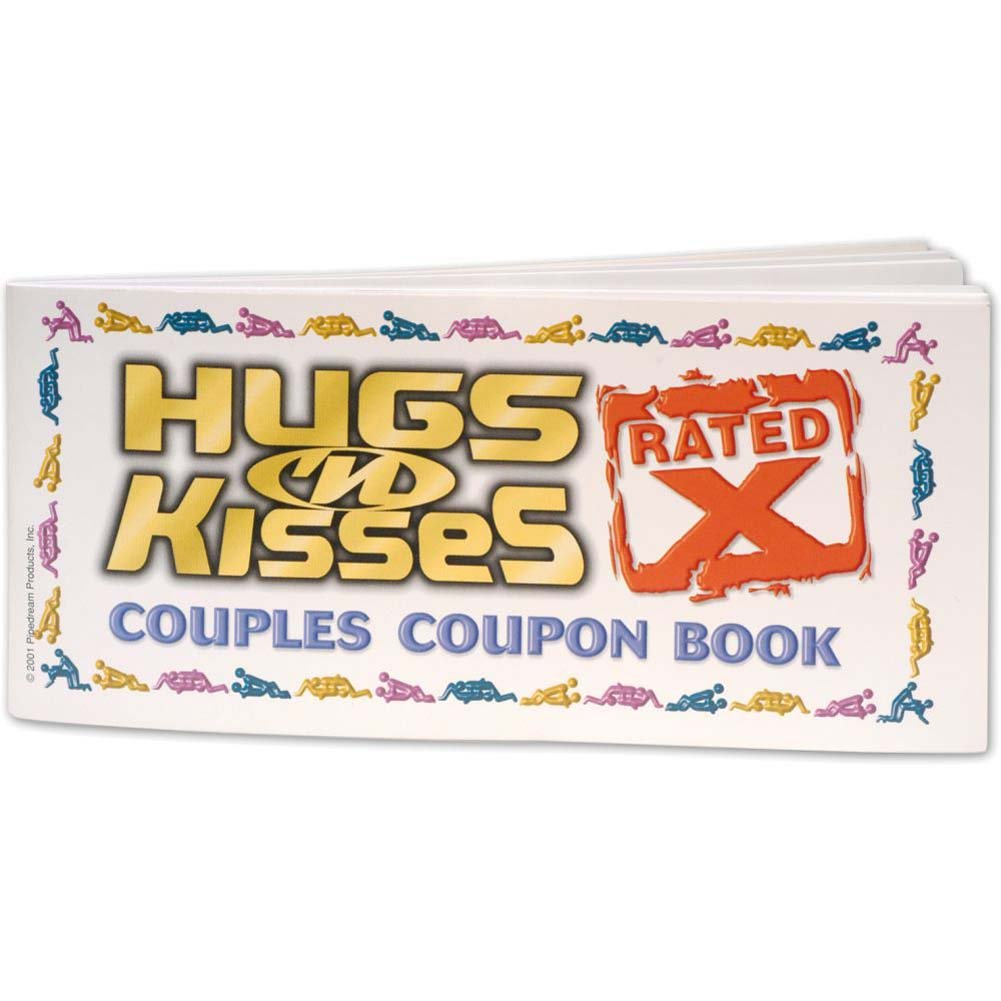 X-Rated Hugs N Kiss Couples Coupon Book for Lovers - View #2