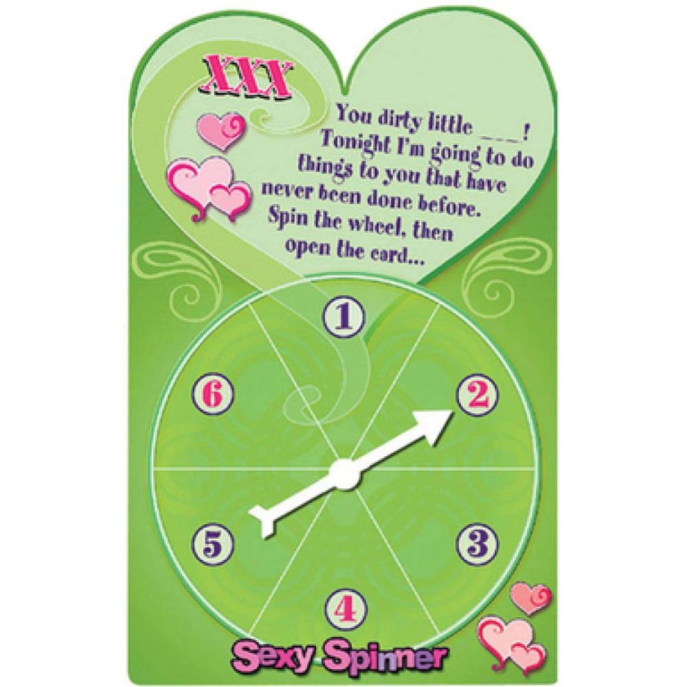 Bachelorette Party Favors Sexy Spinner X Rated Game Greeting Cards 12 Count - View #1