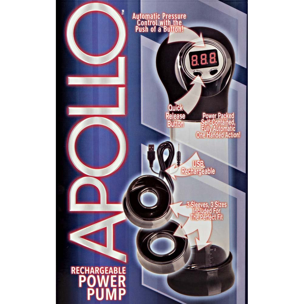 Apollo Rechargeable Power Pump - View #1