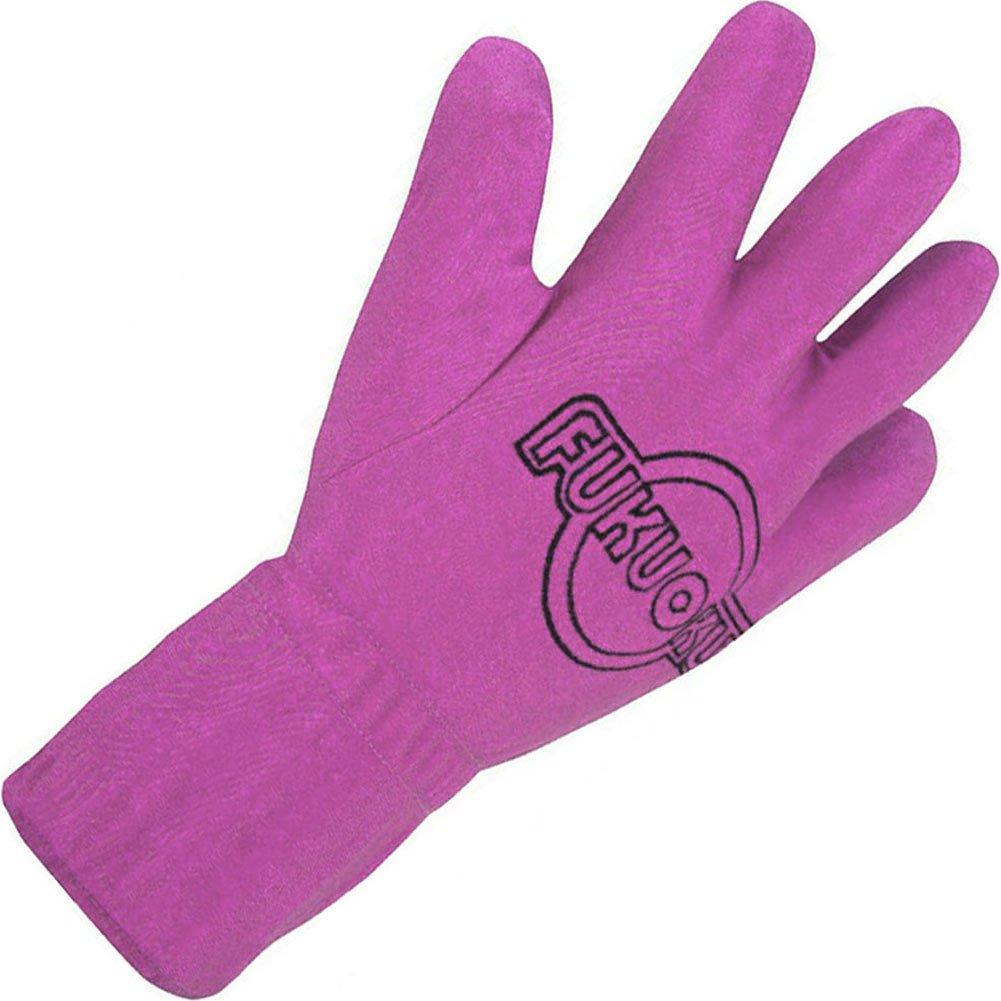 Fukuoku 5 Finger Vibrating Right Hand Massage Glove Small/Medium Pink - View #2