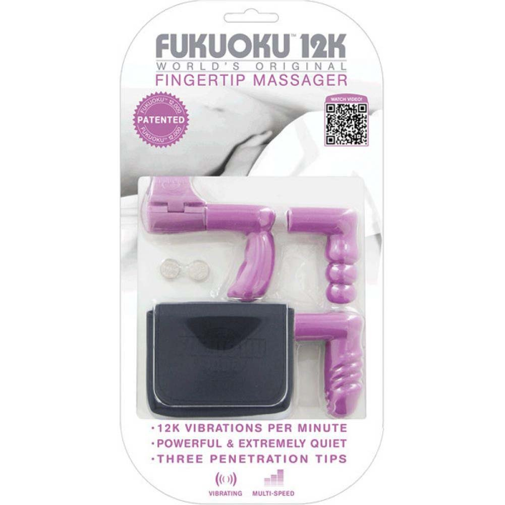 Fukuoku WorldS Original Fingertip Massager Kit Pink - View #1