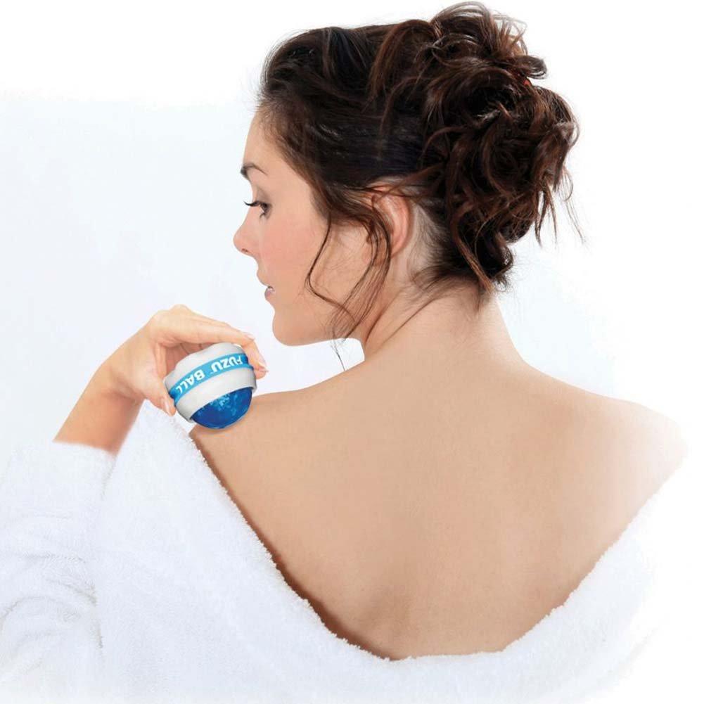 Fuzu Roller Ball Massager Neon Blue - View #1