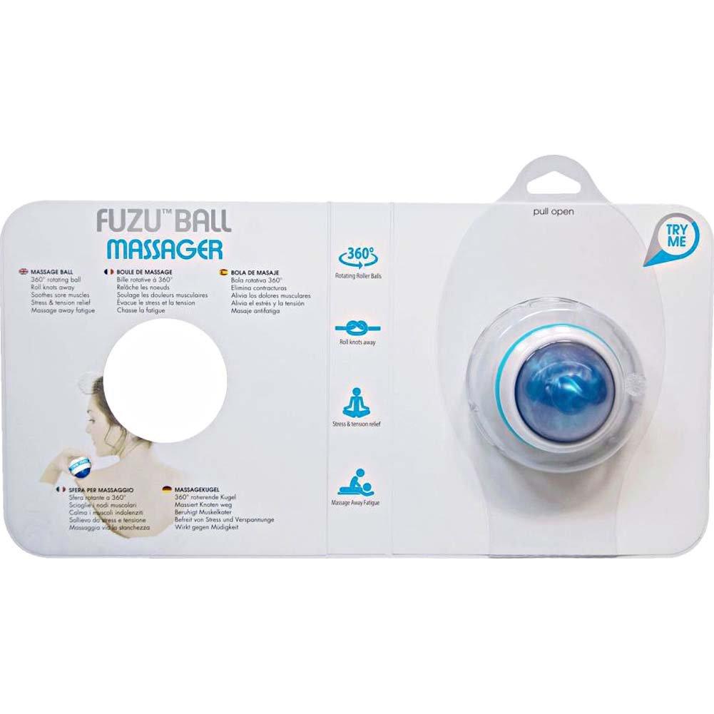Fuzu Roller Ball Massager Neon Blue - View #3