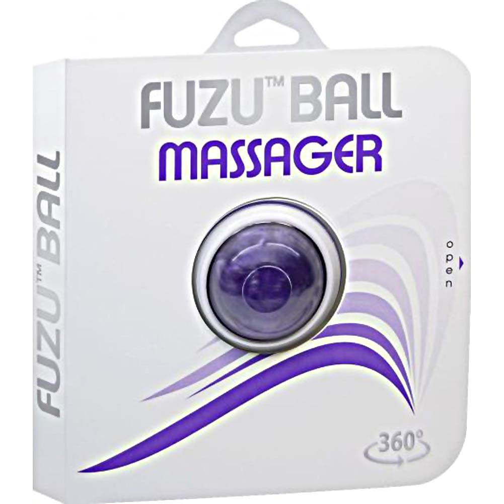 Fuzu Roller Ball Massager Neon Purple - View #4