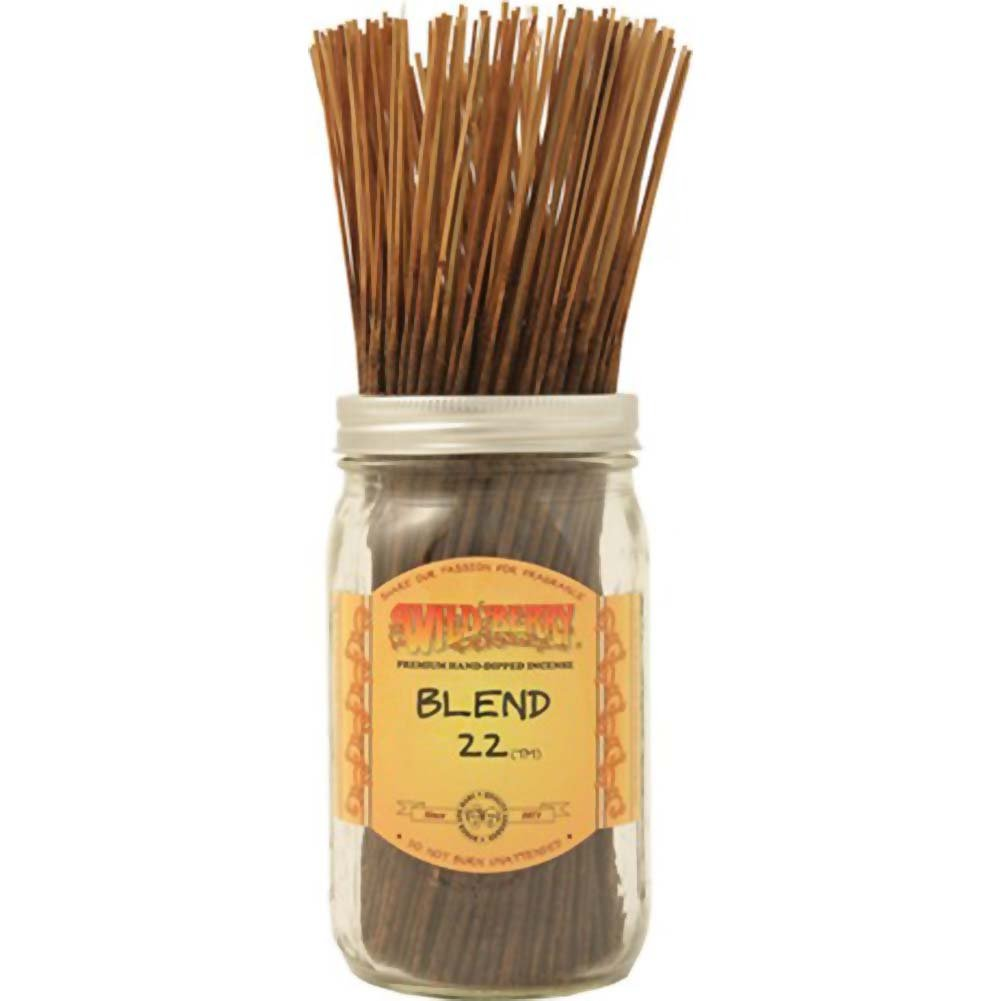 Wildberry Incense Blend 22 100 Count Bundle - View #1