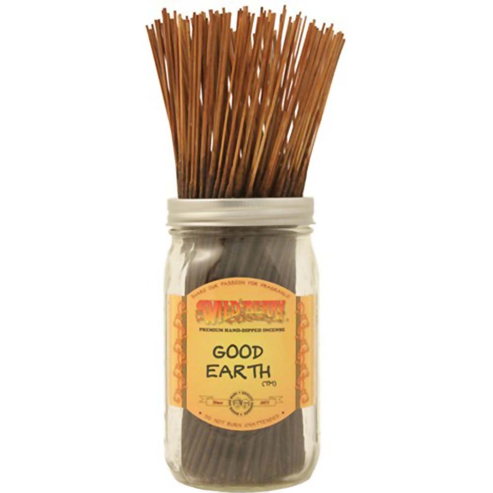 Wildberry Incense Good Earth 100 Count Bundle - View #1