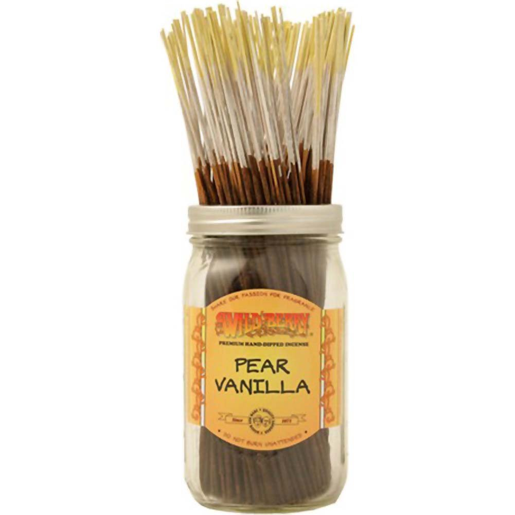 Wildberry Incense Pear Vanilla 100 Count Bundle - View #1