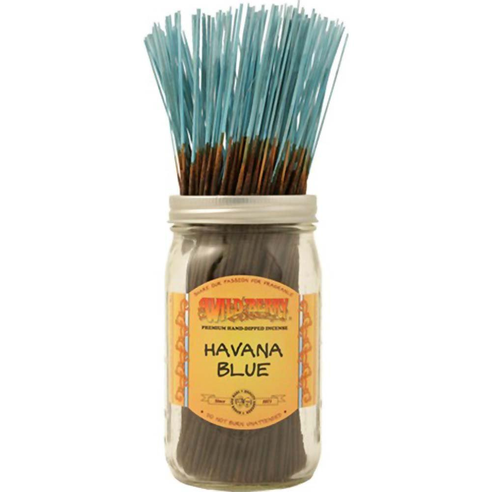 Wildberry Incense Havana Blue 100 Count Bundle - View #1