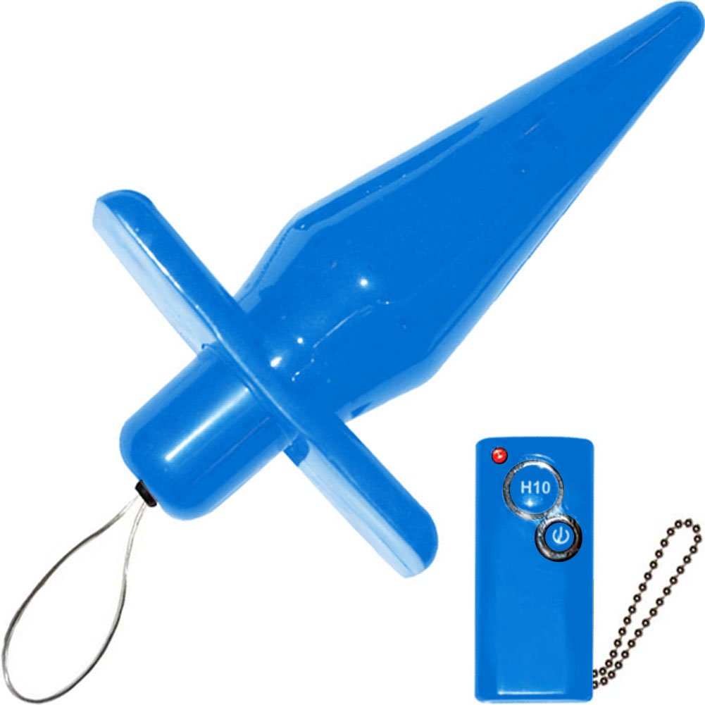 Power Buttplug Remote Control Blue - View #2