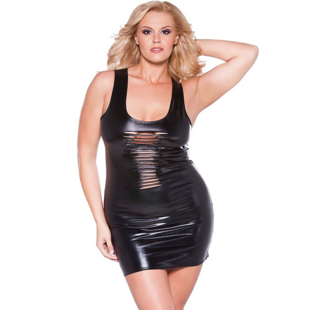 Risque Kitten Dress Black Queen Size - View #1