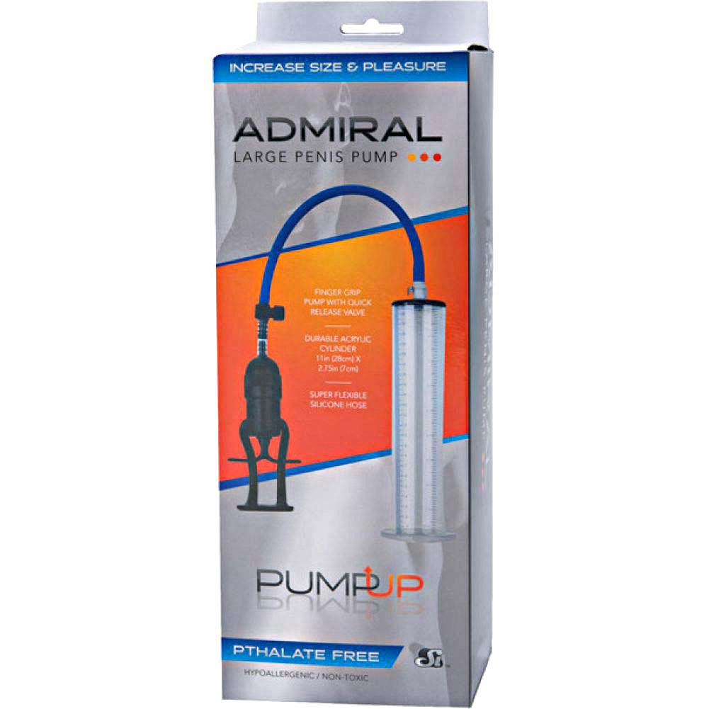 SI NoveltiesThe Admiral Penis Pump Clear - View #1