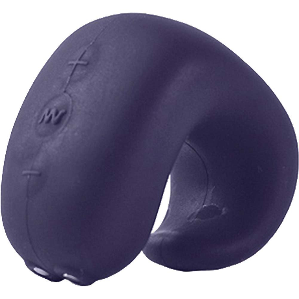 Fun Toys G Ring Advanced Silicone Finger Vibrator Dark Blue - View #2