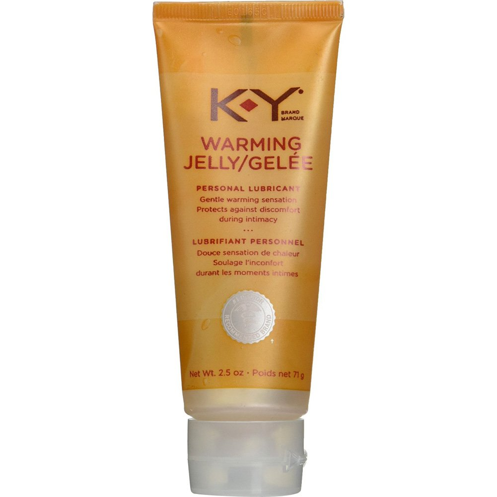 K-Y Warming Jelly Personal Lubricant 2.5 Oz 71g Tube - View #1