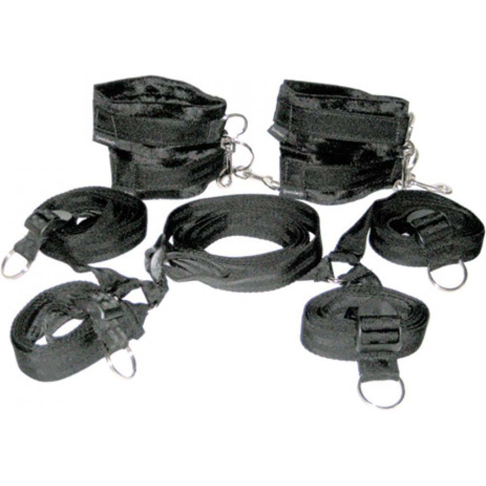 Sportsheets Manbound Under the Bed Restraint Gear Black - View #4