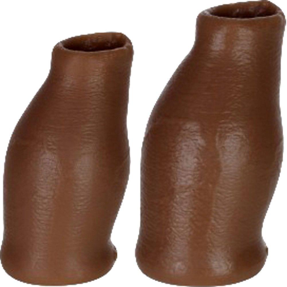 Oxballs Moreskin Silicone Foreskin Hoods Large Extra Large Dark - View #1