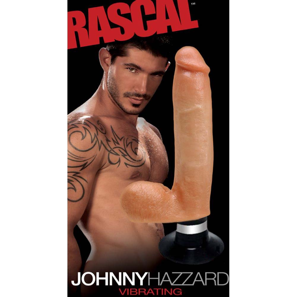 Rascal Toys Johnny Hazzard Duotouch Realistic Vibrator Natural Flesh - View #1