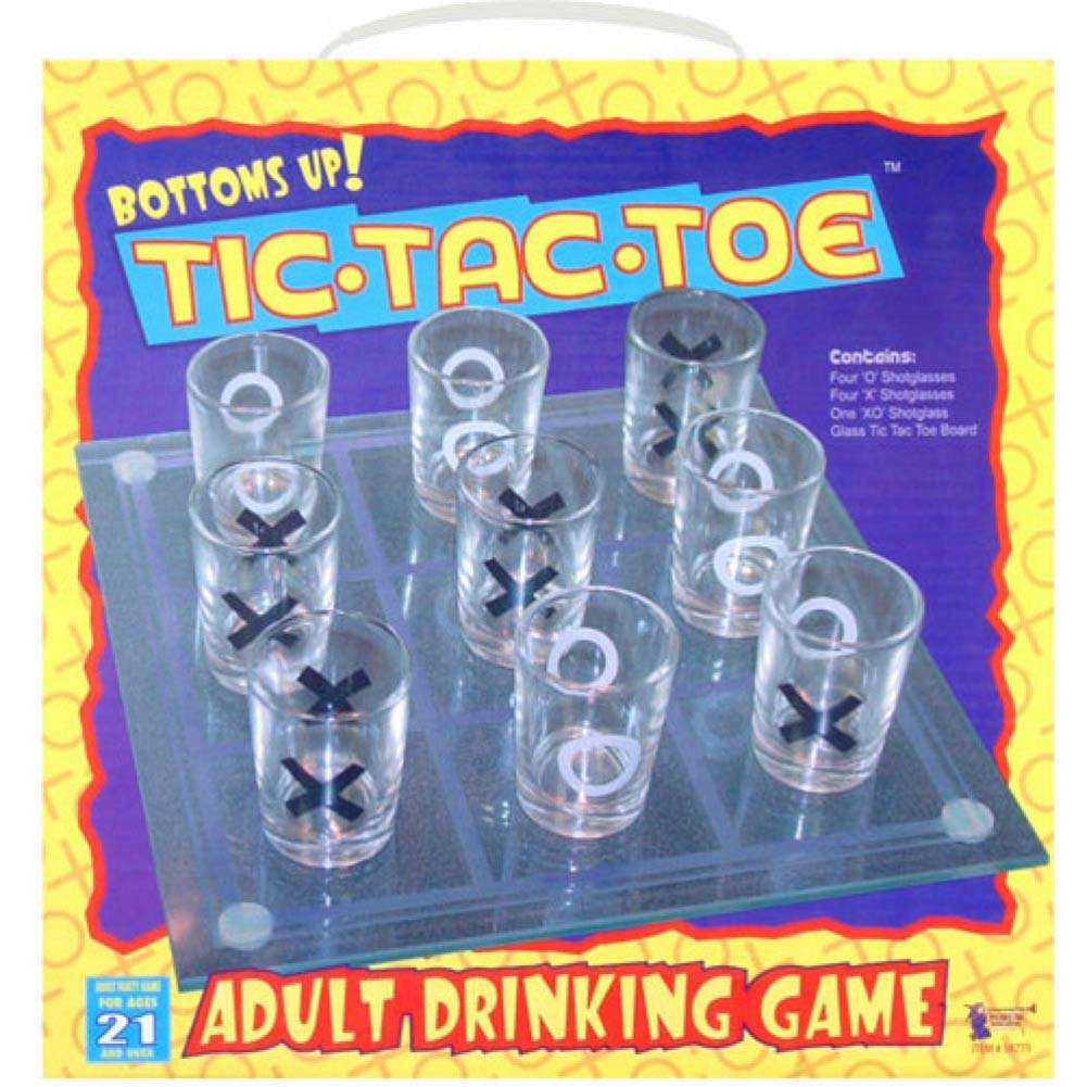 Bottoms Up Tic Tac Toe Drinking Game - View #2