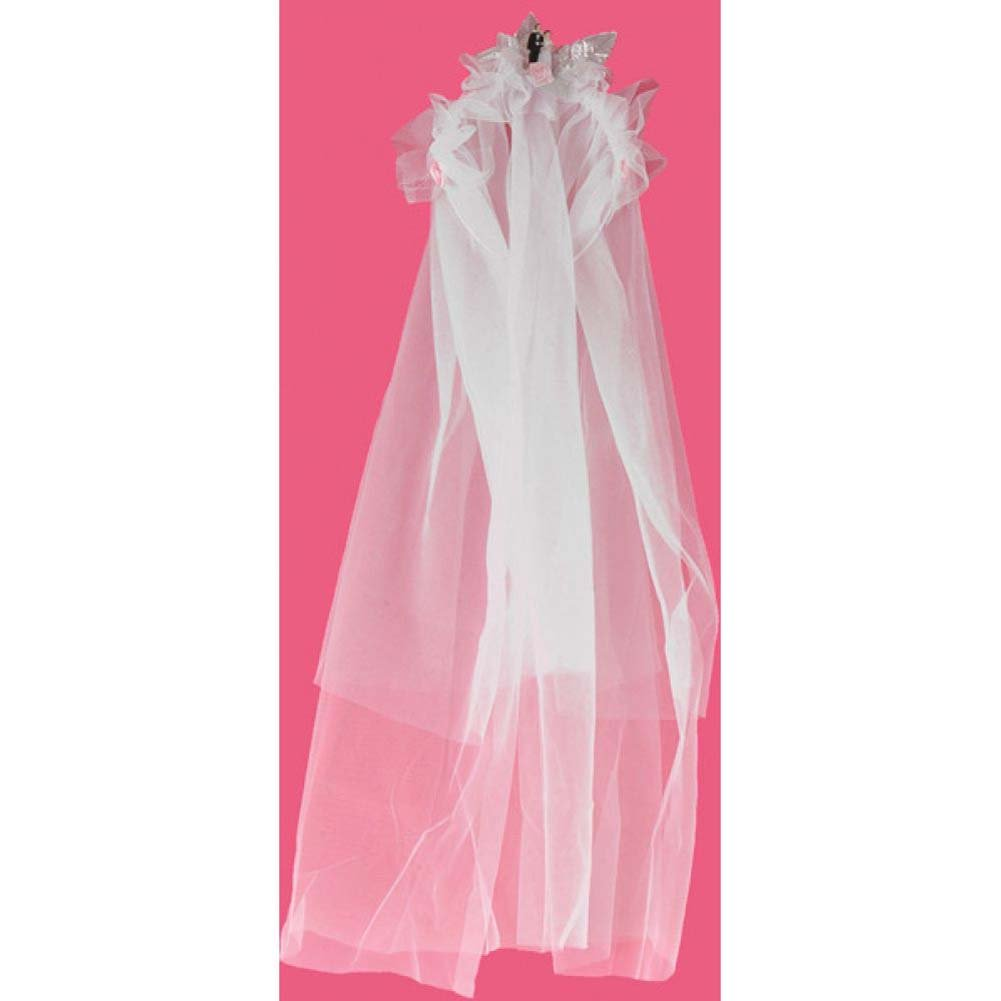 Bride to Be Party Veil Bridal White - View #1