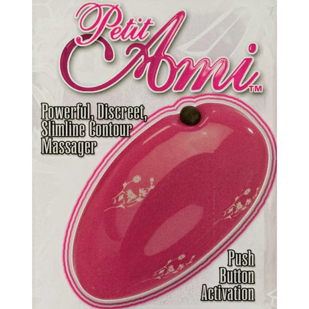 "California Exotics Petit Ami Palm Massager 3"" Hot Pink - View #1"