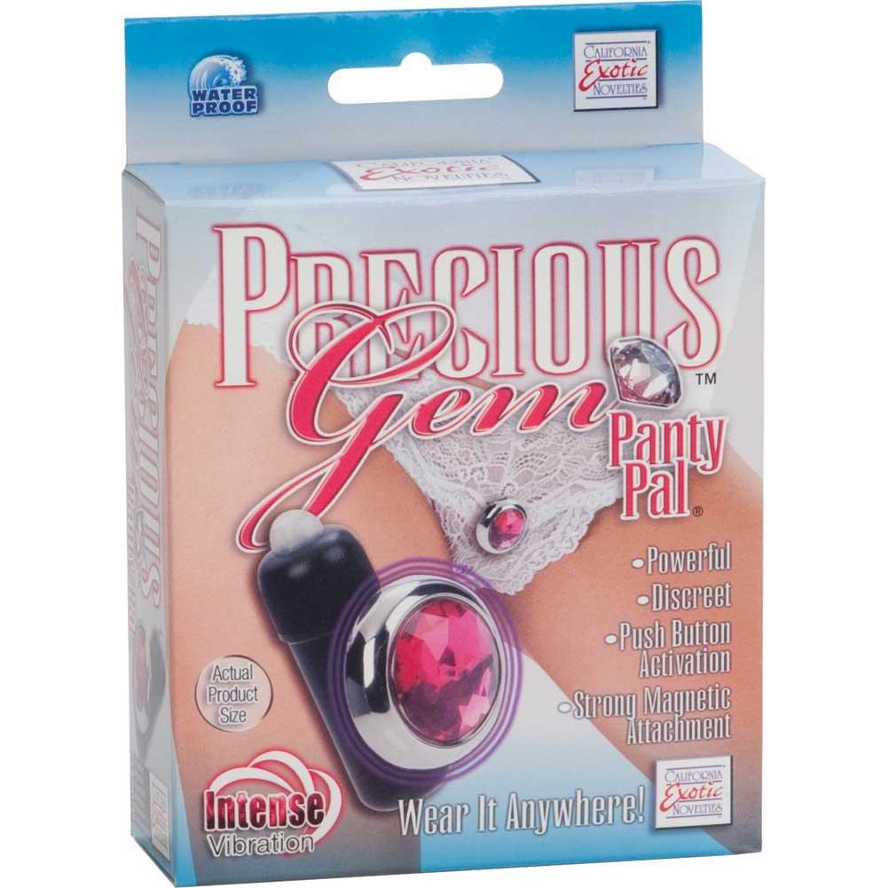California Exotic Precious Gem Panty Pal Bullet Vibrator Pink - View #4