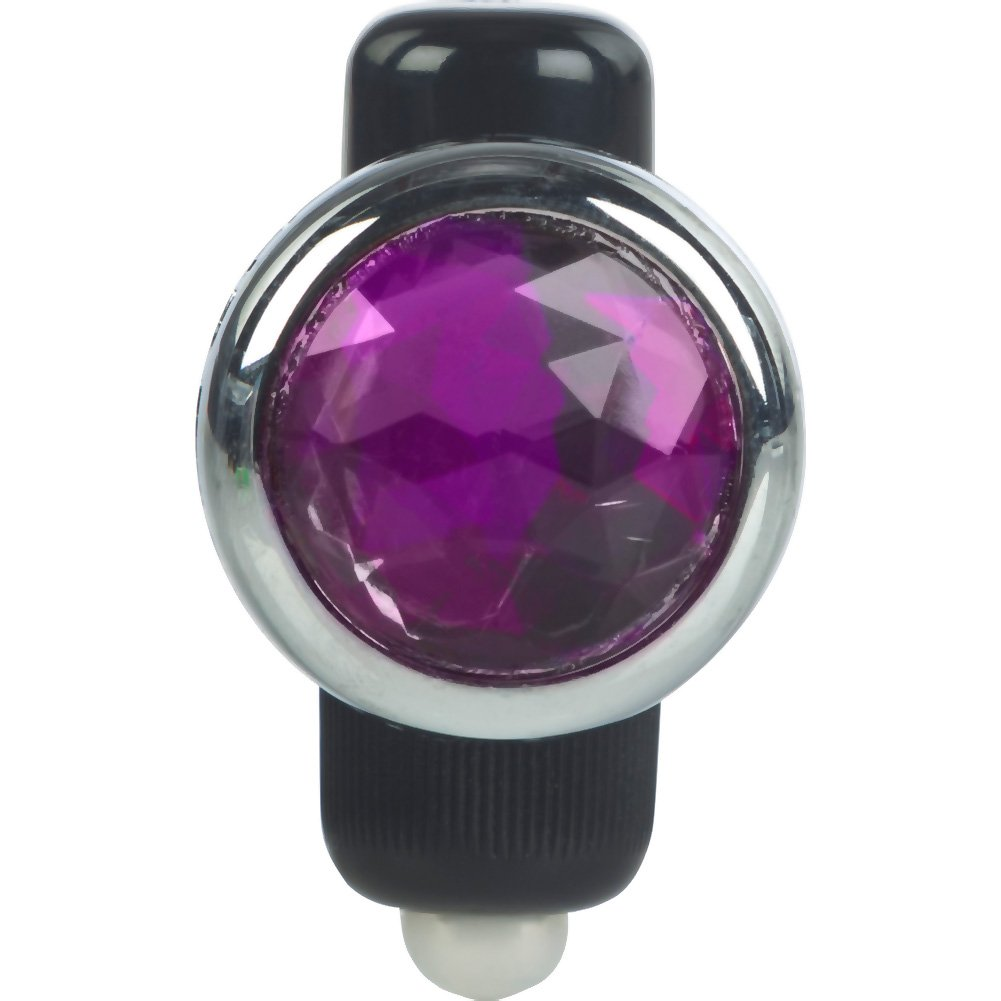 California Exotic Precious Gem Panty Pal Bullet Vibrator Purple - View #3
