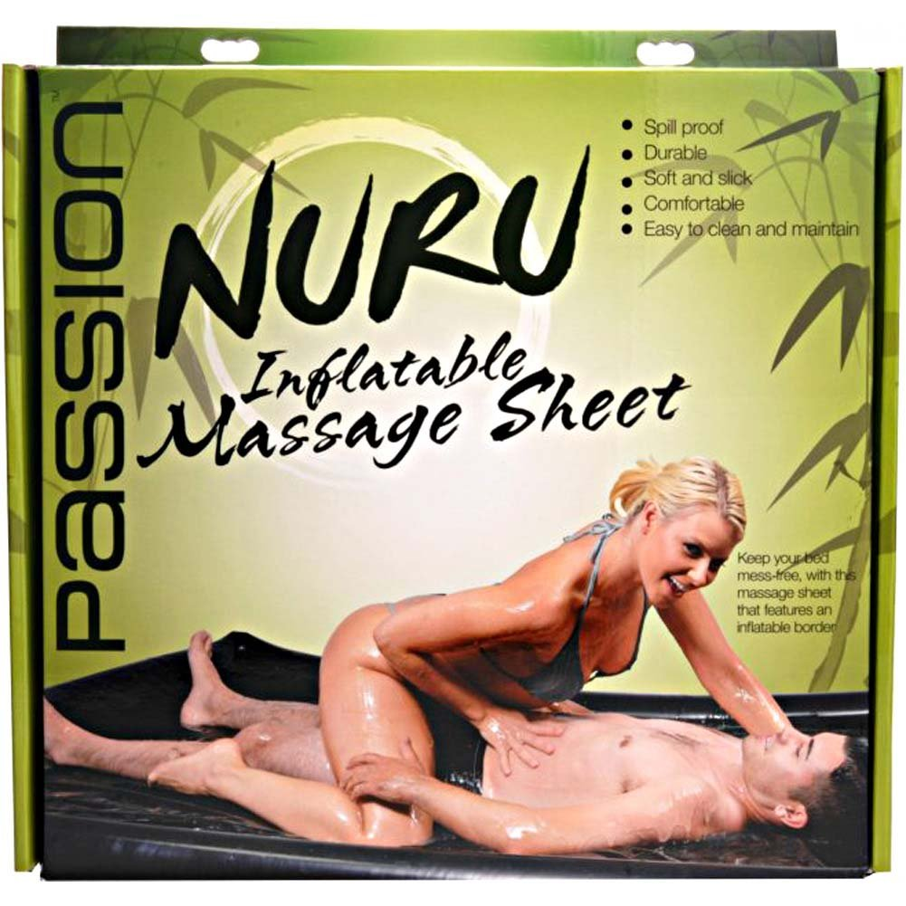 Passion Nuru Inflatable Massage Sheet - View #1