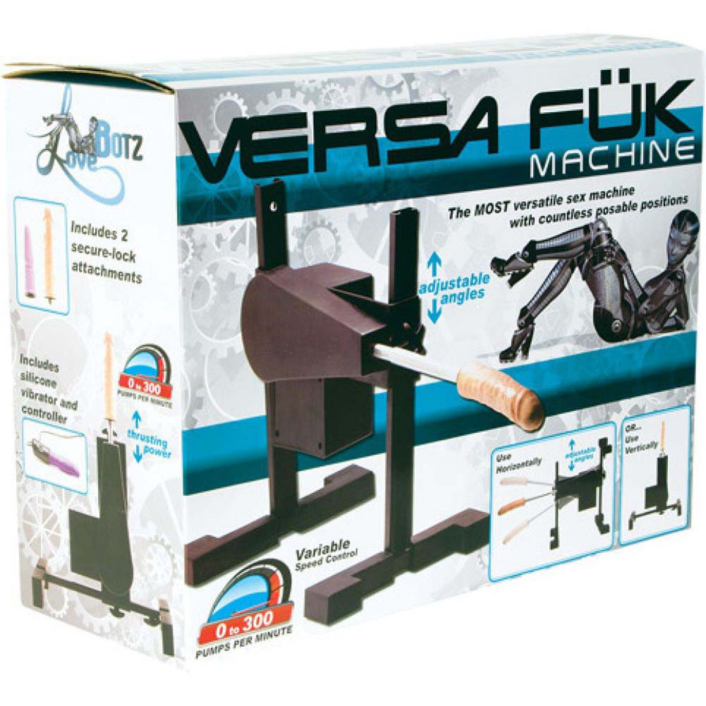 Versa Fuk Sex Machine with 2 Dildos and Remote Controlled Vibe - View #4
