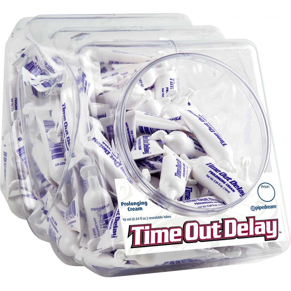 Time Out Delay Prolonging Cream 100 Count Fishbowl 10 Ml Each - View #1