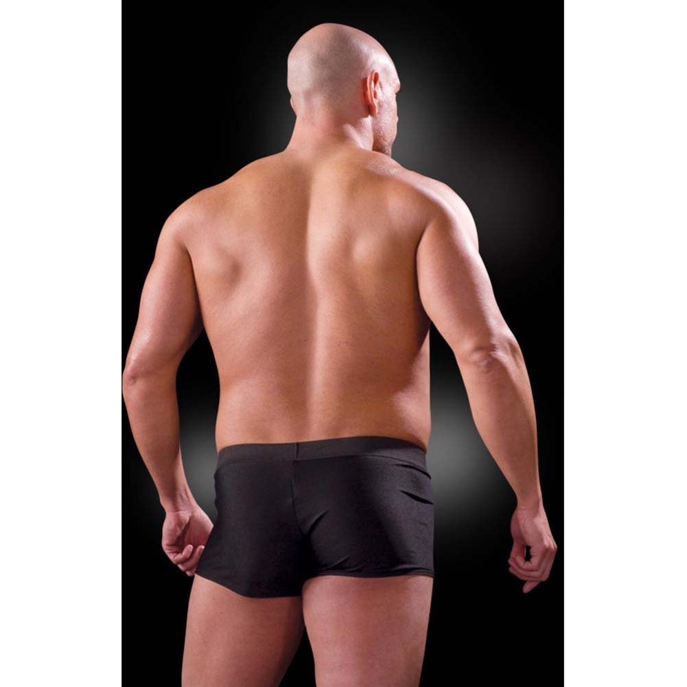 Fetish Fantasy Lingerie Beefy Brief with Built-in Cock Ring Large/Extra Large Black - View #2