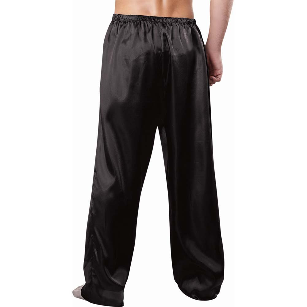 Charmeuse Drawstring Pant Black Xxl - View #2