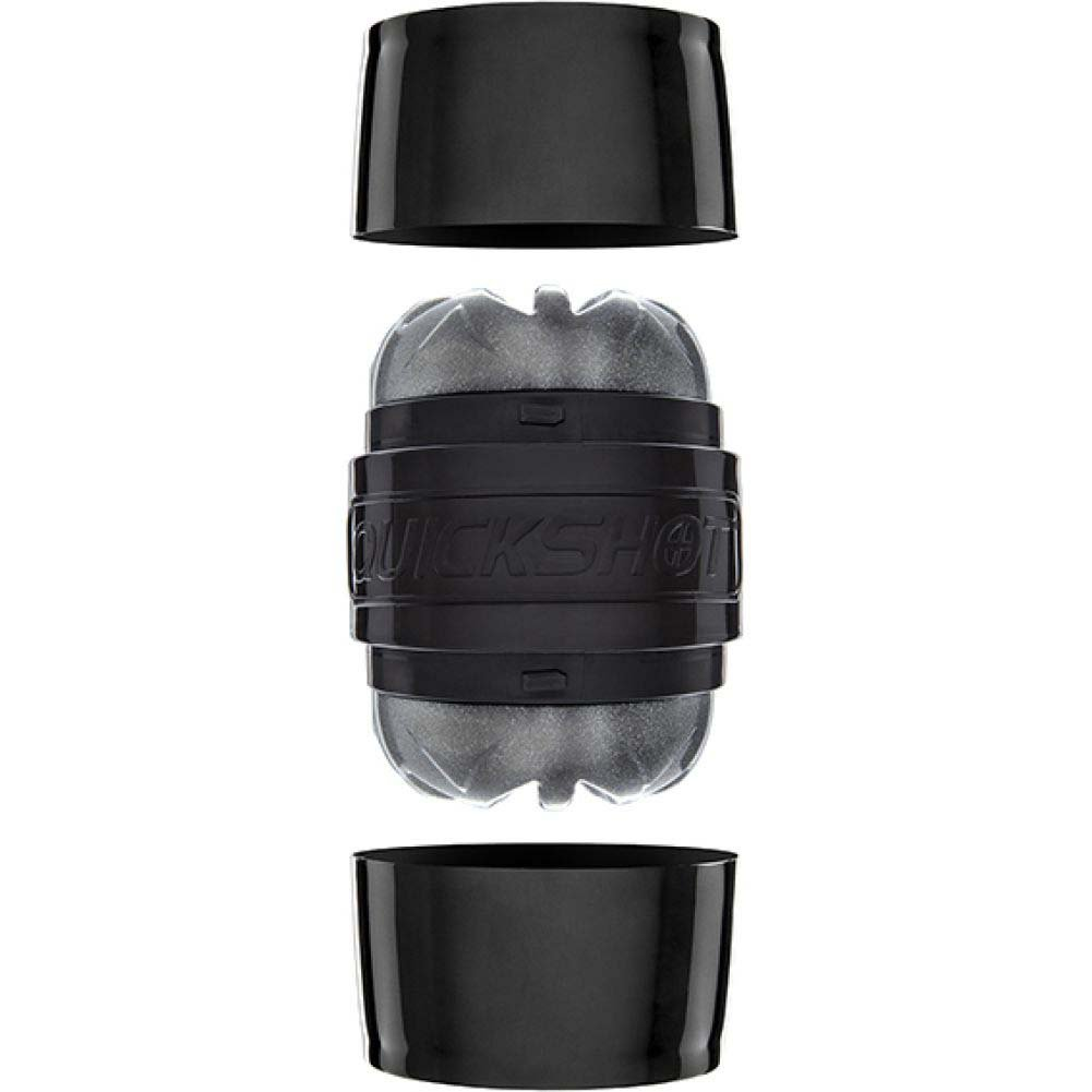Fleshlight Quickshot Boost Compact Masturbator for Men and Couples Black - View #3