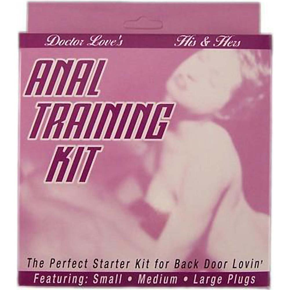 Anal Training Kit Flesh - View #1