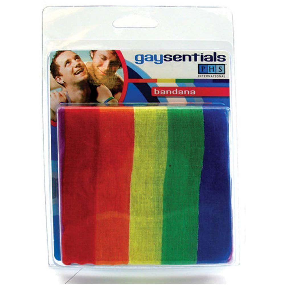 Gaysentials Rainbow Bandana - View #1