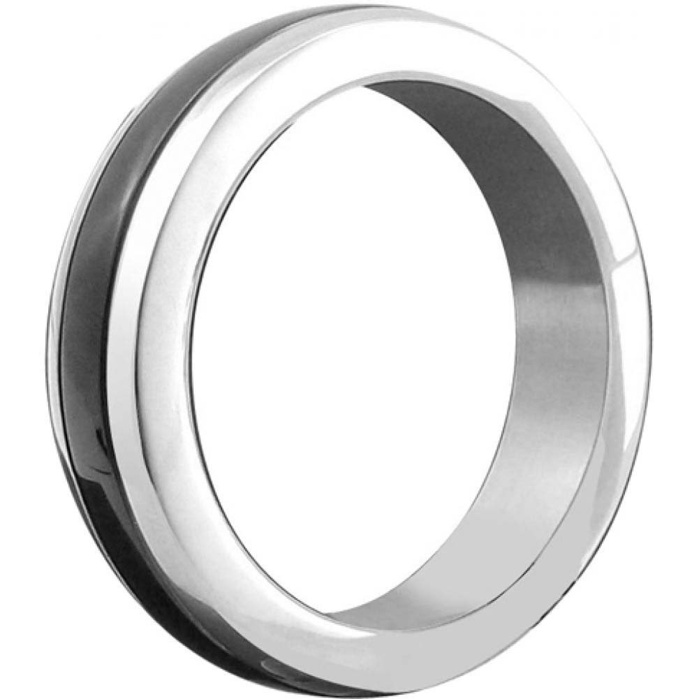 "H2h C-Ring Stainless 1.75"" Chrome with Black - View #1"