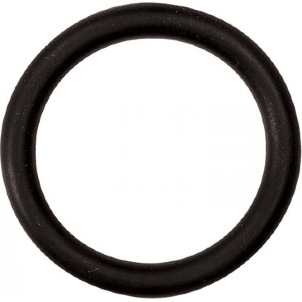 "M2m Nitrile Cock Ring 1.50"" Black - View #2"