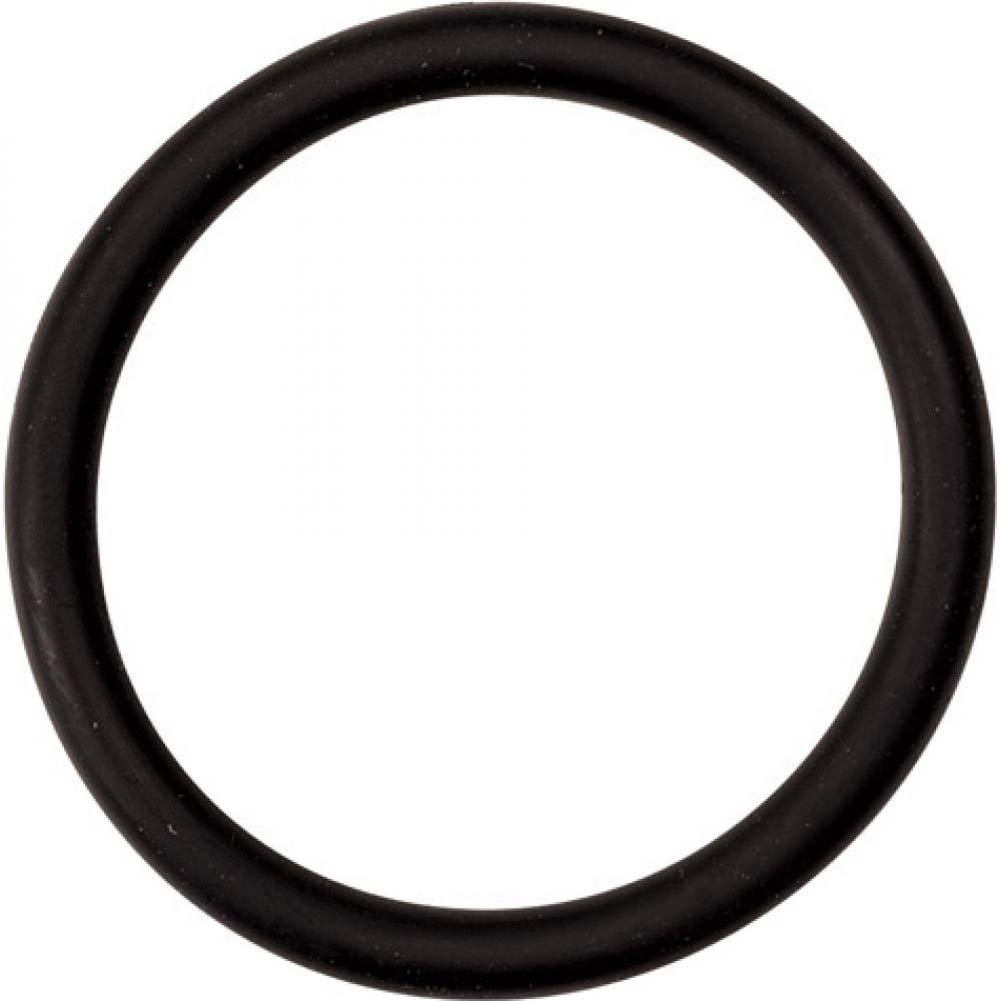 "M2m Nitrile Cock Ring 2.00"" Black - View #2"