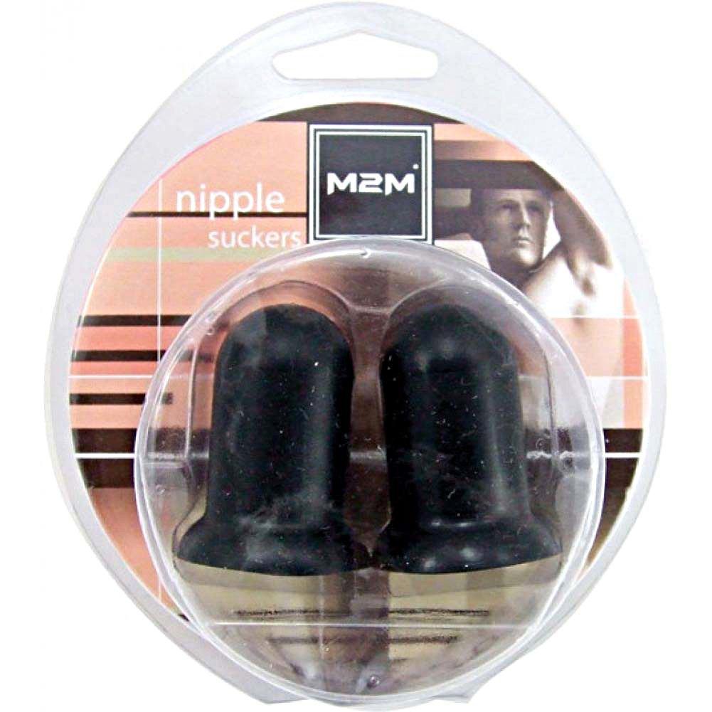 M2m Silicone Nipple Suckers Black - View #1