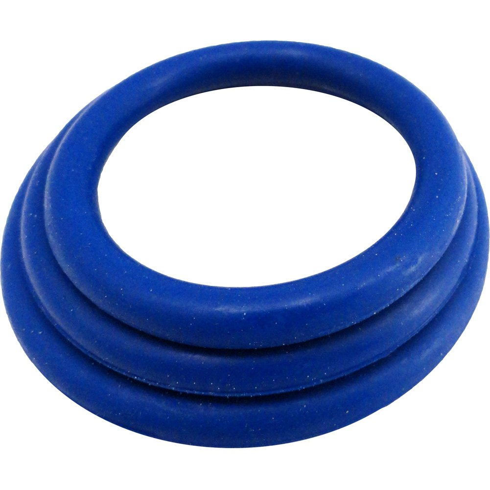 M2M Nitrile Cock Ring 3 Piece Pack Dark Blue - View #2