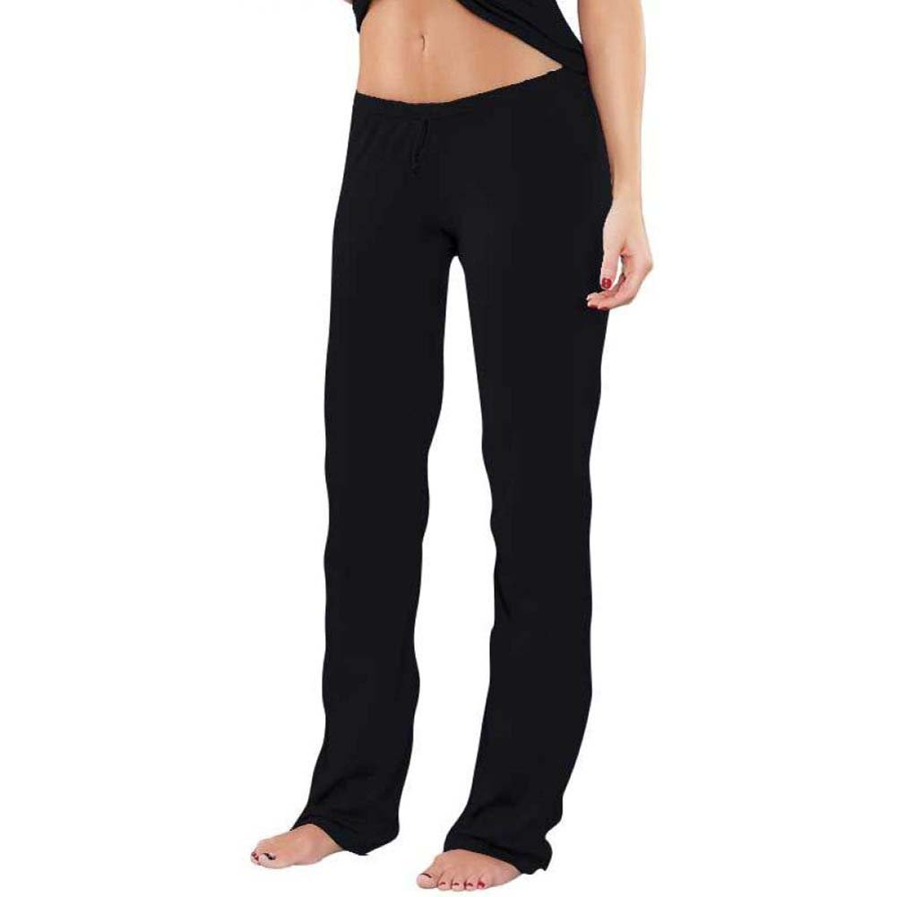 Bamboo Magic Lounge Pant Black Small - View #1
