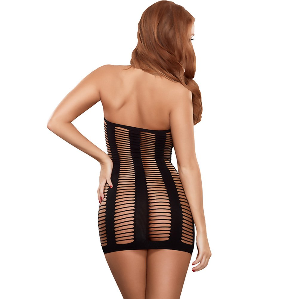 Club Seamless Ladder Dress Black One Size - View #2