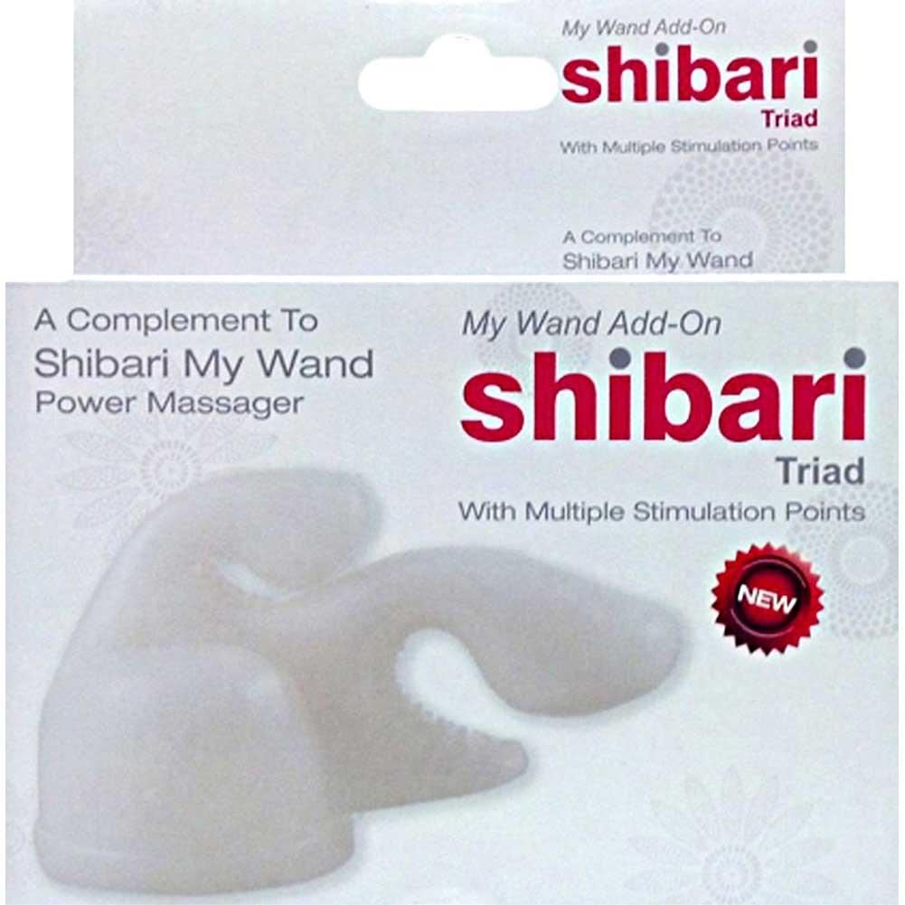 Shibari Triad My Wand Add On Attachment White - View #3