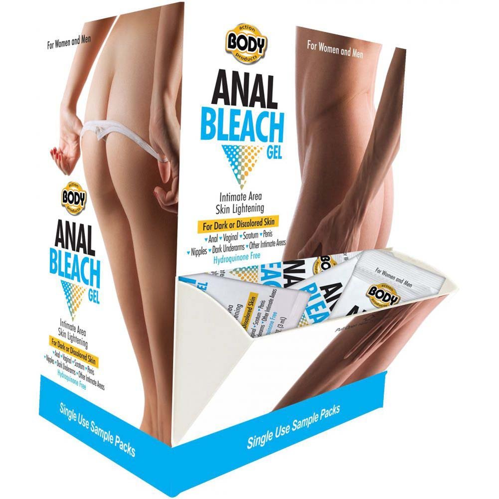 Body Action Anal Bleach Sample Set 50 Piece Display Case - View #1