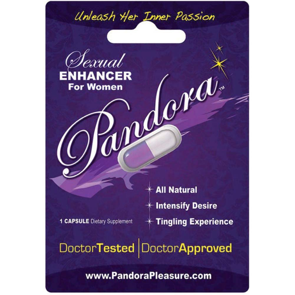 Pandora Sexual Enhancer Women 24 Piece Display - View #1