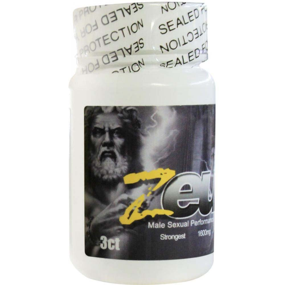 Zeus Male Supplement Bottle 3 - View #1