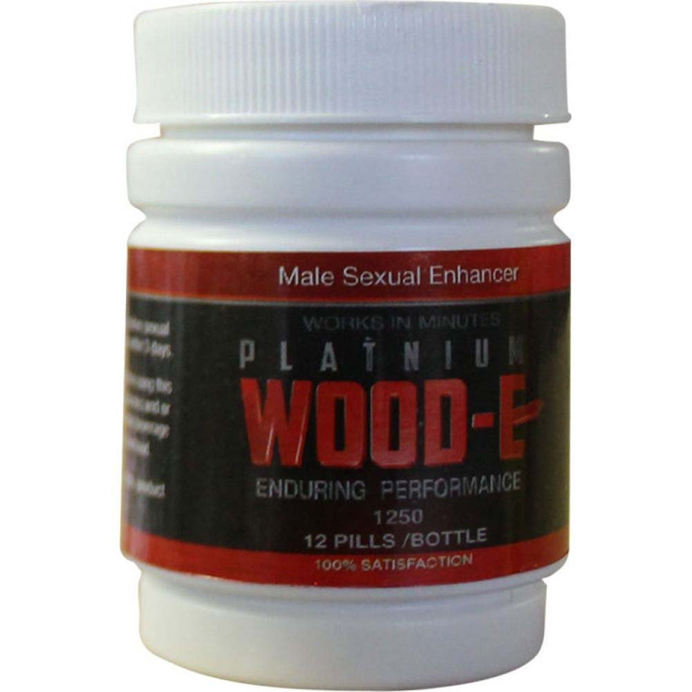 Platinum Wood-E 12 Count Bottle - View #1