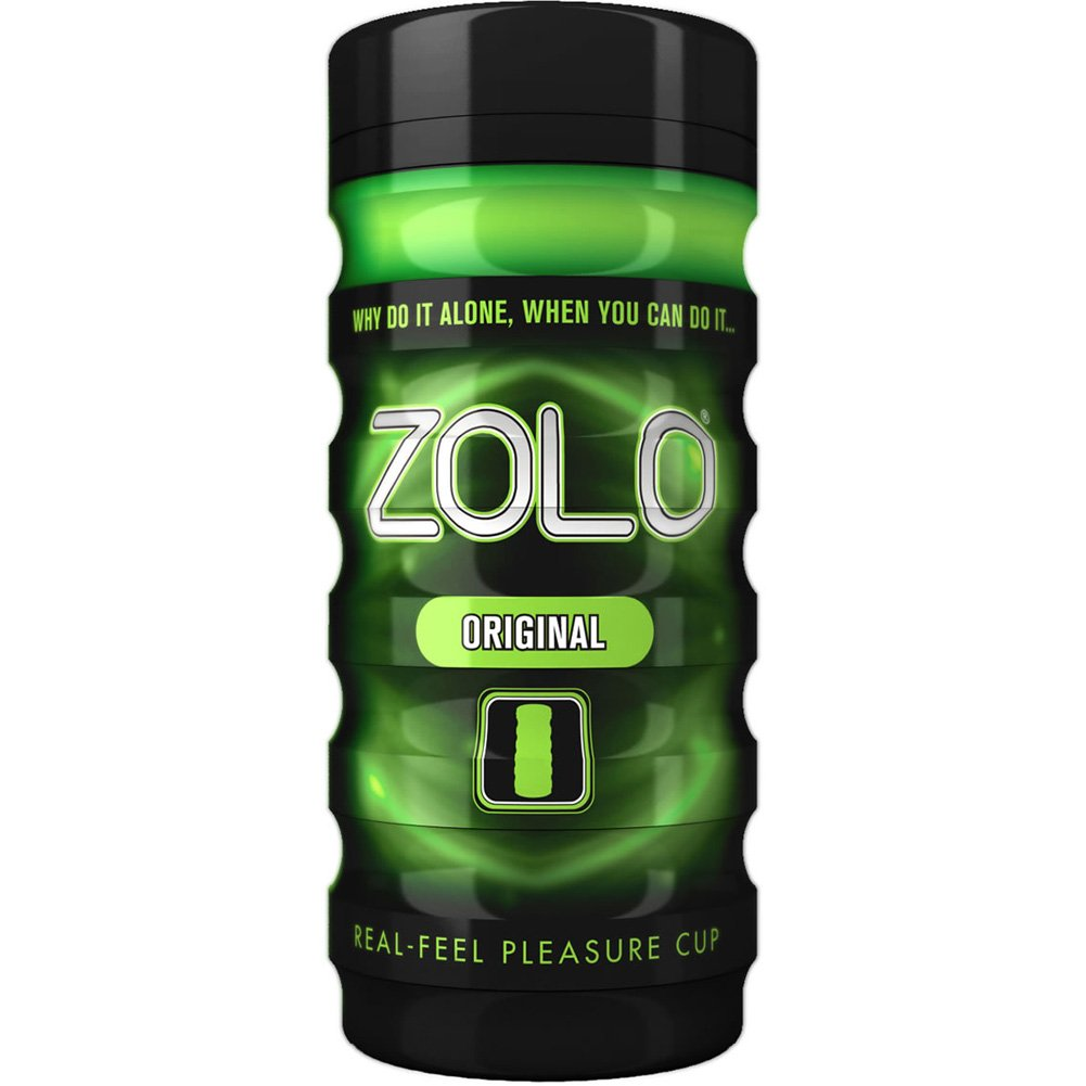 Zolo Original Real Feel Pleasure Cup Premium Male Masturbator - View #2