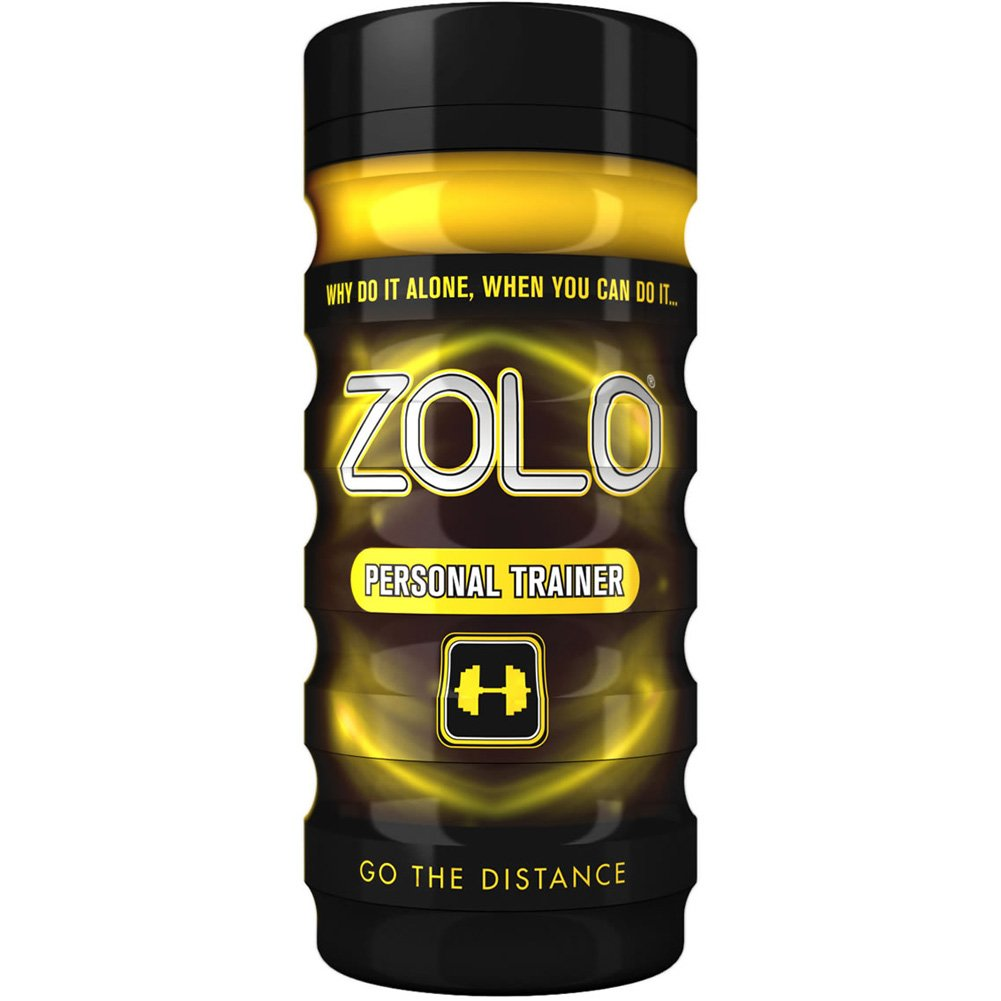 Zolo Personal Trainer Go the Distance Cup Premium Male Masturbator - View #2